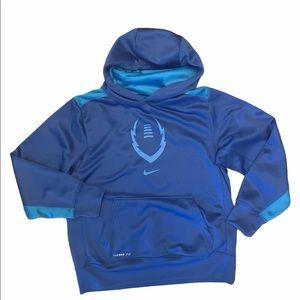 Nike football large youth hoodie